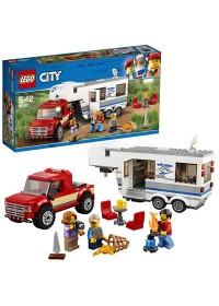 LEGO City Pick-uptruck en Caravan - 60182