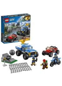 LEGO City Bergpolitie Modderwegachtervolging - 60172