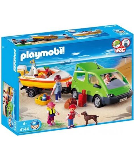 Playmobil Gezinswagen Met Speedboot - 4144