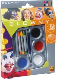 Clowny Aquaschmink 8-delig