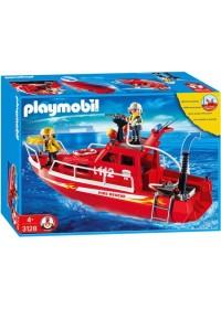 Playmobil Brandweer boot - 3128