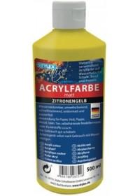 Acrylverf 500ml Geel
