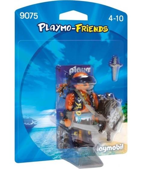 PLAYMOBIL Piraat met schild - 9075