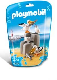 PLAYMOBIL Pelikaanfamilie - 9070
