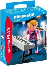 PLAYMOBIL Zangeres met keyboard - 9095