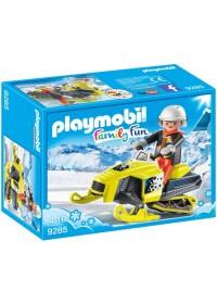 PLAYMOBIL Sneeuwscooter - 9285