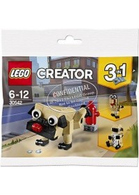 LEGO 30542 Schattige Mopshond (Polybag)