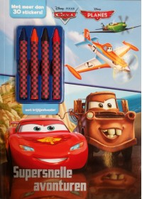Disney Cars Supersnel act.+krijtjes