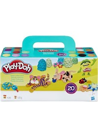 Play-Doh Super Color Pack - 20 kleuren potjes - Klei