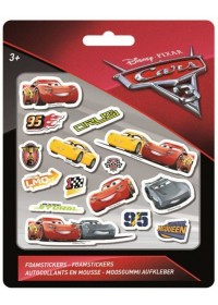 Cars 3 Foamstickers