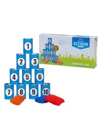 Outdoor Play - Throwing Cans