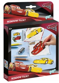 Disney Cars 3 Windowpaint - Raamstickers maken