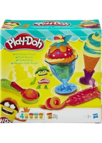 Play-Doh Ice Cream Treats - Klei