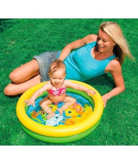 Intex Baby zwembad met bedrukte Bodem - 61 x 15cm