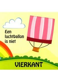 Luchtballon is niet vierkant