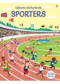 Stickerboek-Sporters aankleden
