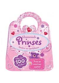 Glinsterende prinses sticker- en speelboek
