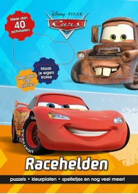 Disney Cars Racehelden 40 act.+100 st.