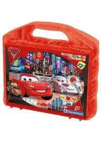 Clementoni Cars - Blokpuzzel 12 delig