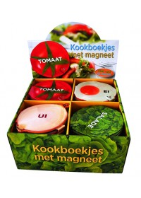 Display kookboekje magneetsluiting