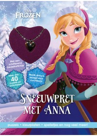 D Frozen Sneeuwpret Anna+ketting