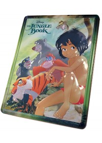 Disney Jungle blik met boek+activ.