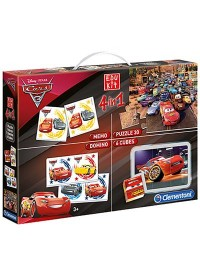 Superkit Disney Cars 3 4 in 1 Clementoni