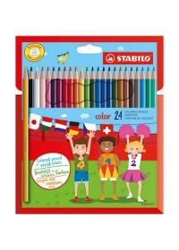 STABILO Color Kleurpotloden - Etui 24 stuks