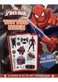 Marvel Spider-man tattooboek