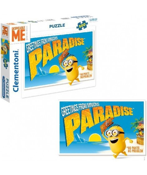 Minions Puzzel 500st Greetings